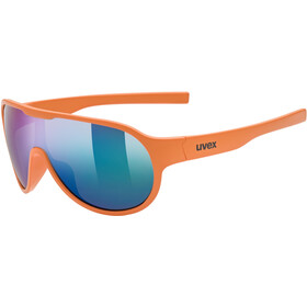 UVEX Sportstyle 512 Glasses Kids, orange matt/mirror green